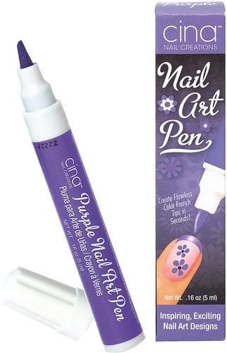 Cina Purple Nail Art Pen