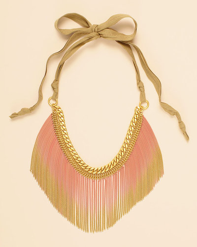 Wanderlust Gradient Fringe Necklace