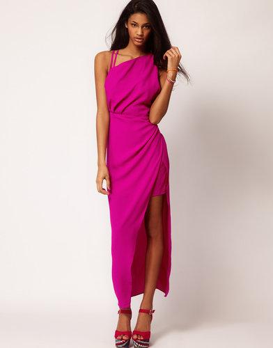 ASOS Mini Dress With Maxi Overlay