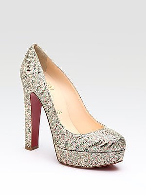 Bibi 140 Glitter Pumps