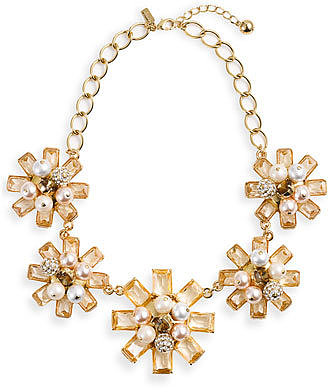 Kate Spade New York &#039;first Blush&#039; Floral Statement Necklace