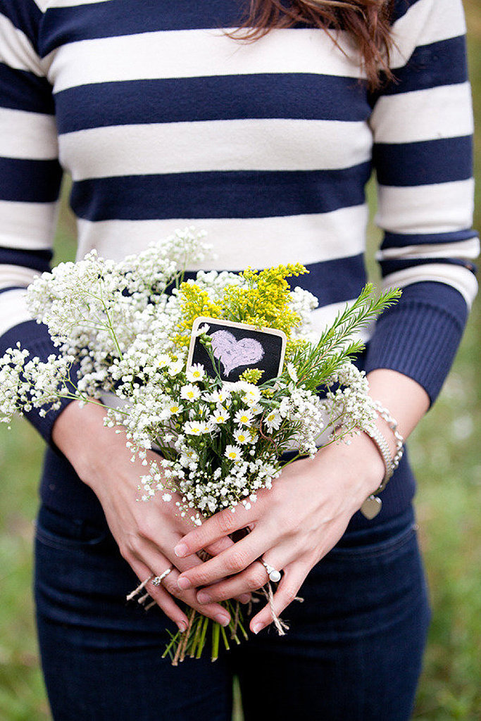 Add a Heart to Your Bouquet