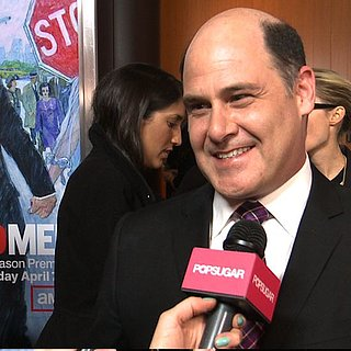 Matthew Weiner Interview at Mad Men Premiere 2013 (Video)