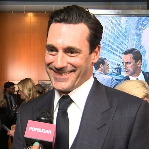 Jon Hamm Interview at 2013's Mad Men Premiere (Video)