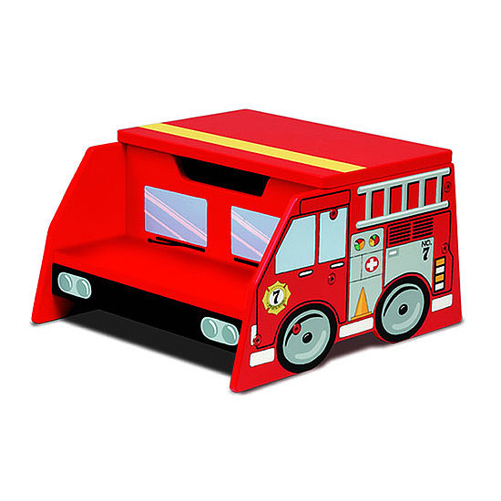 KidKraft Fire Truck Step Stool