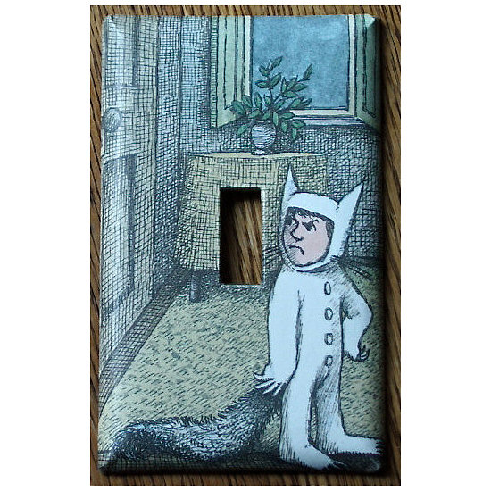Where the Wild Things Are Light Switch Plate