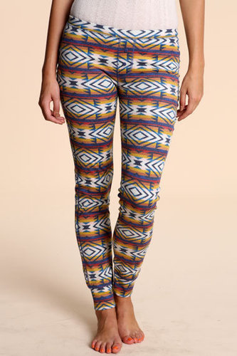 BDG Printed Rib Knit Leggings