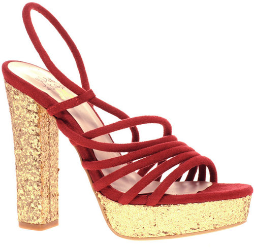 Miss KG Thandie suede straps platform sandal