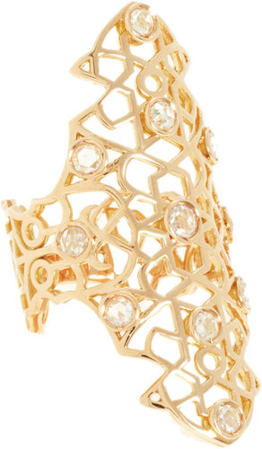 Repossi Rose Gold & Diamond Maure Ring