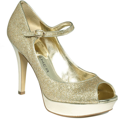 Marc Fisher Shoes, Terry 4 Mary Jane Platform Pumps