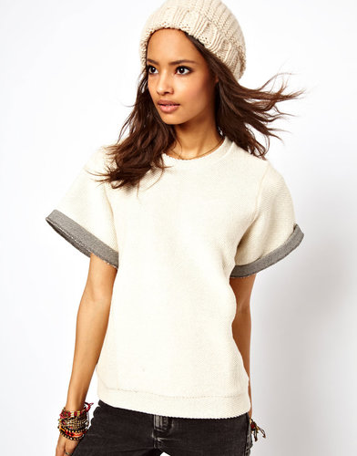 ASOS Sweatshirt with Seam Detail