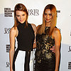 Celebrities at 2013 LMFF: Megan Gale, Barbara Palvin