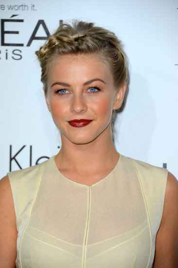 Even shorter styles can sport a great braid, as Julianne Hough proves here.