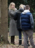 Nicole Kidman went to work on the set of her new film.
