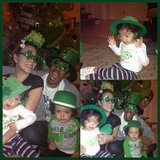 Mariah Carey's kids — Monroe and Moroccan — had a festive St. Patrick's Day. Source: Instagram user mariahcarey