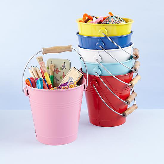 Colored Buckets