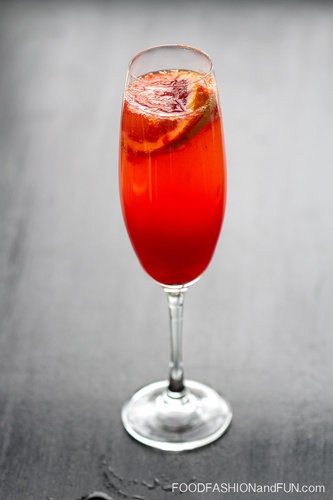 Sparkling Blood Orange Sangria