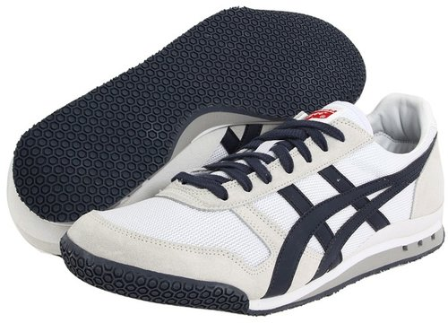 ASICS - Ultimate 81 (Zappos Exclusive! White/Navy) - Footwear