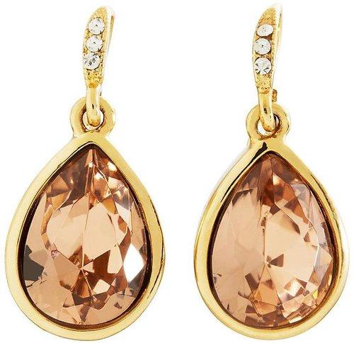 Goldwash Crystal Drop Earrings