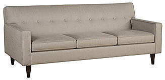 Clare Fabric Sofa, 82&quot;W x 37&quot;D x 37&quot;H