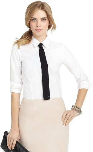 Fitted Multi Rope Striped Luxury Dress Shirt