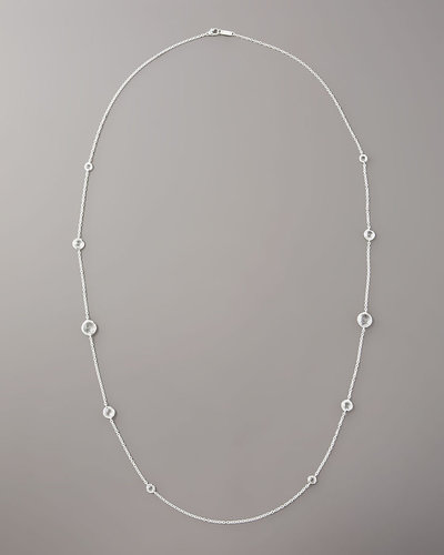 "Ippolita Lollipop Clear Quartz Necklace, 37""L"