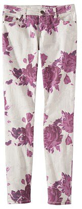Mossimo Supply Co. Juniors Printed Floral Denim - Assorted Colors