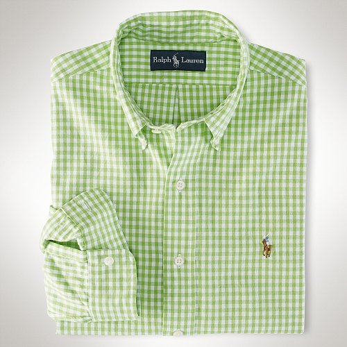Polo Ralph Lauren Custom-Fit Gingham Oxford