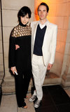 Edie Campbell and Otis Ferry
