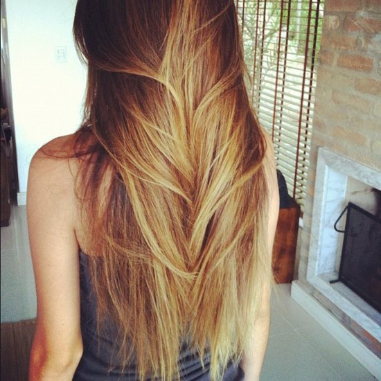 When in doubt, opt for a gorgeously smooth blowout. Source: Instagram user live_free_01