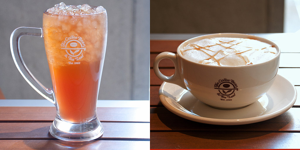 Taste Test: The Coffee Bean & Tea Leaf's Tea Cappuccinos and Sweet Tea