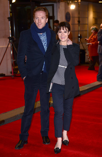 Damian Lewis and Helen McCrory walked the red carpet.