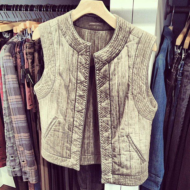 Citizens of Humanity actually read our minds for what the perfect moto vest would look like — and then made it for Fall.