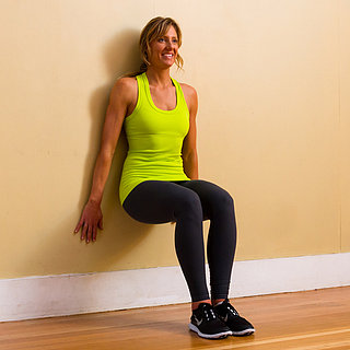 Strengthen Quads and Avoid Runner's Knee With Wall Squats