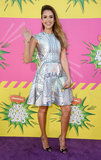 Jessica Alba stepped out for the Kids' Choice Awards in LA.