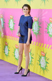 Kristen Stewart wore Osman at the Kids' Choice Awards.