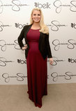 Pregnant Jessica Simpson made a mall appearance in North Carolina.