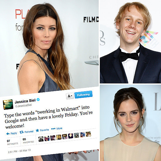 Tweets Of The Week: Jessica Biel, Josh Thomas, Emma Watson & More!