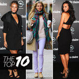 Top Ten Best Dressed of the Week: Megan Gale, Jess Hart, Lara Bingle & More