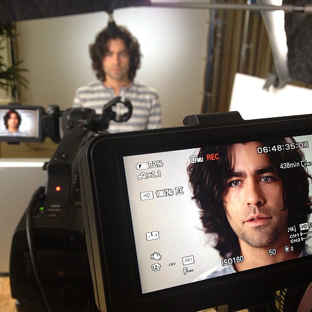 Adrian Grenier took a cool shot. Source: Instagram user adriangrenier
