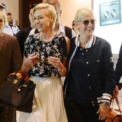 Ellen DeGeneres and Portia De Rossi in Australia (Photos)