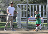 Gwen Stefani Has a Sporty Spring Weekend in LA With Her Boys