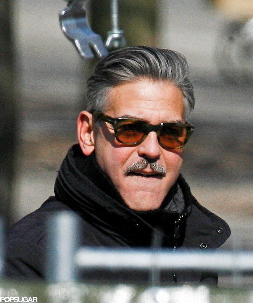 George Clooney filmed The Monuments Men in Berlin.