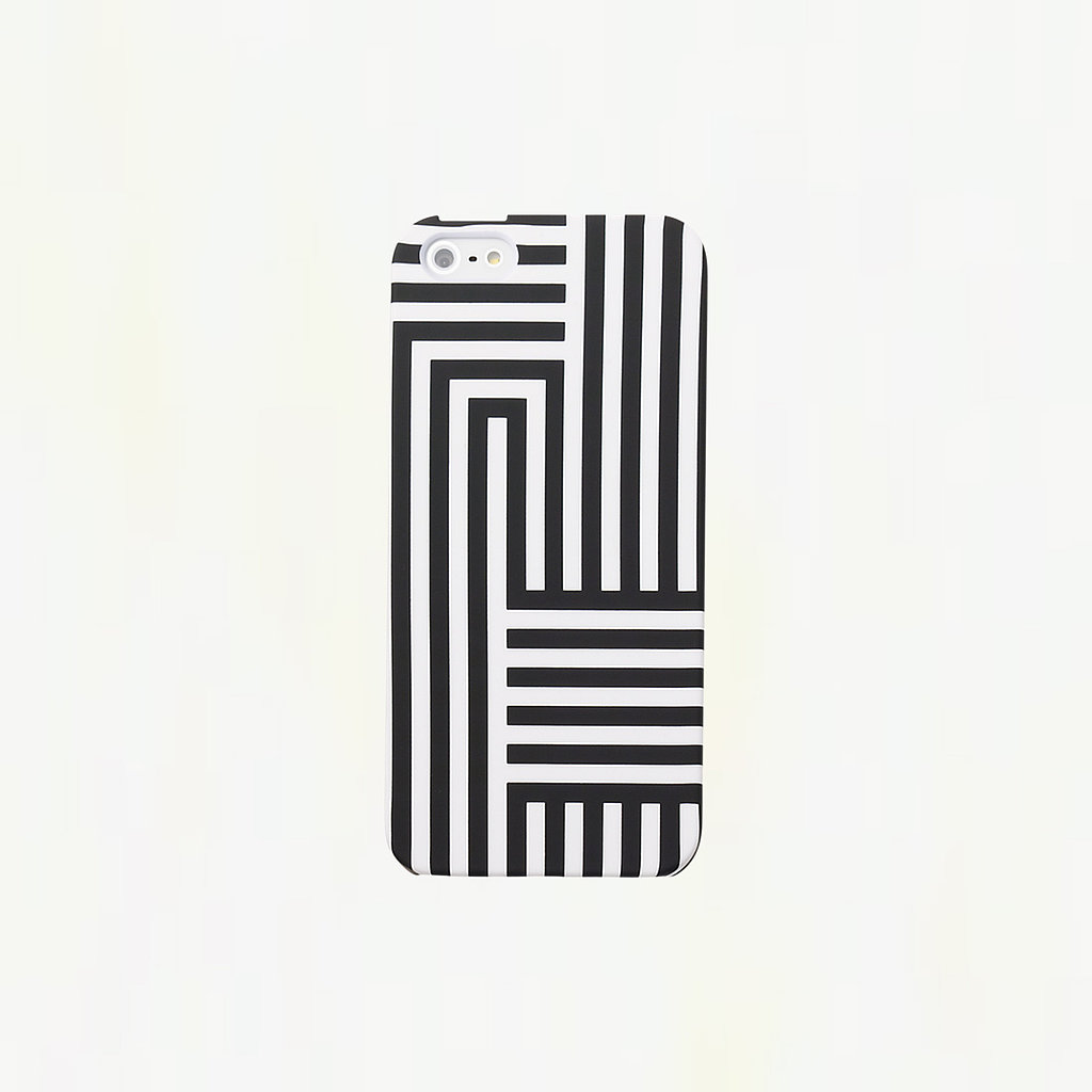 Go mod with this Zig Zag ($25) tech protection for iPhone 5. There's an iPhone 4 version, too.