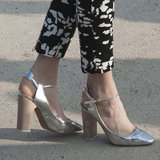 Best Metallic Shoes | Spring 2013