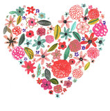 Bring a little love to simple Spring blooms with this flower heart print ($16).