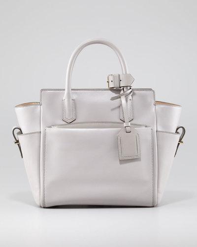 Reed Krakoff Atlantique Mini Tote Bag, Light Gray