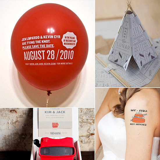 Clever Ways to Save the Date