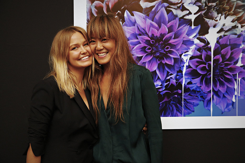 Lara Bingle and Vicki Lee