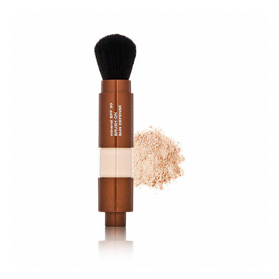 Lotions and sprays not your bag? Mineral Fusion SPF 30 Sun Defense ($25) is a brush-on powder that's virtually mess-free.
